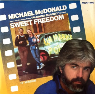 "Michael McDonald - Sweet Freedom (Remixes) (12"") (EX/EX)"